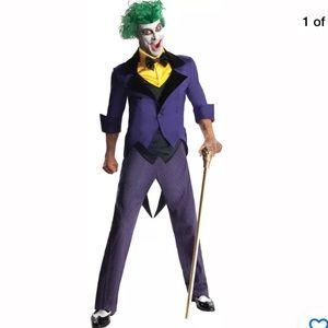 Adult  Joker Costume Súper Villain DC Comics